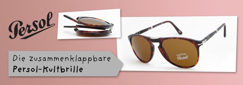 Persol zusammenklappbare Sonnenbrille