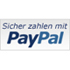 PayPal-Logo Sicher zahlen