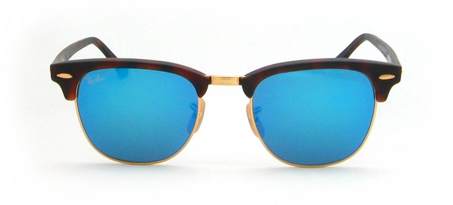 ray ban verspiegelt blau